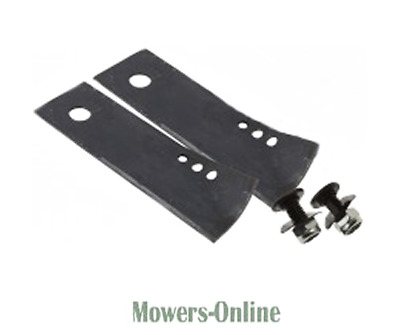 Genuine Rover Lawnmower Blade Tips & Bolts (pair) 22  • 15.13£