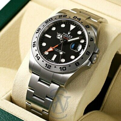 $ CDN14076.72 • Buy Rolex Explorer II GMT Stainless Steel Black Dial 216570 Bk Complete And Unworn