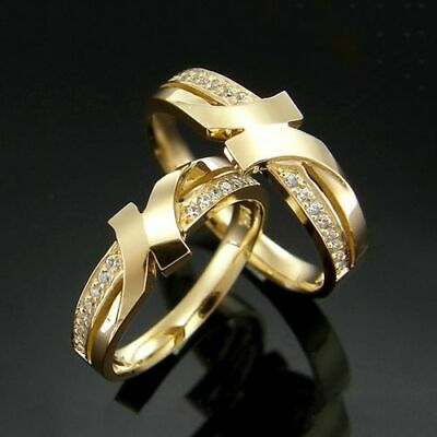 $12.99 • Buy 18K Solid Yellow Gold Statement Ring