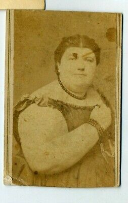 $ CDN13.89 • Buy Circus Sideshow- Phoebe Dunn- Fat Lady- Elgin, Illinois- Autographed