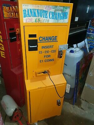 Coin Operated Note To £1 Change Arcade Machine  • 700£