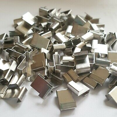£3.99 • Buy Greenhouse Clips For Glass Z Glazing Clips For Greenhouse Spares Pack Of 50 Pcs