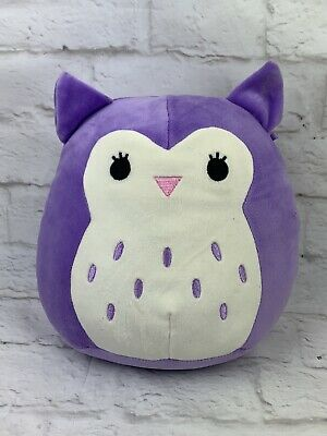 $ CDN19.79 • Buy SQUISHMALLOWS Purple Owl 9  Super Soft Stuffed Animal Plush Bird KELLYTOY