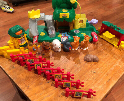Fisher Price Little People Zoo Playset With Sounds • 9.50£