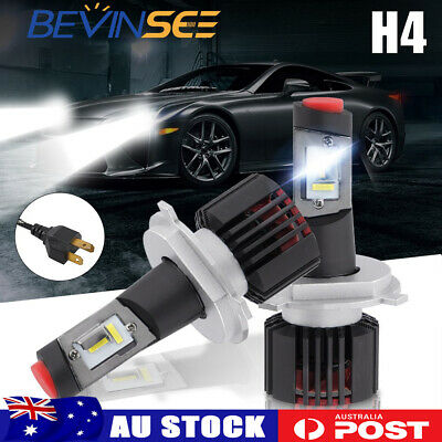 AU35.50 • Buy 2x LED H4 Headlight Globe White Lamp For Kia Credos Carnival 98-02 Spectra 01-07