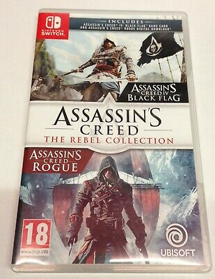 Assassin's Creed The Rebel Collection - Nintendo Switch - Black Flag & Rogue • 24.99£