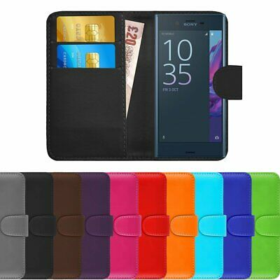 AU9.58 • Buy For SONY XPERIA XZ 2 PREMIUM -  Leather Magnetic Flip Wallet Stand Case Cover