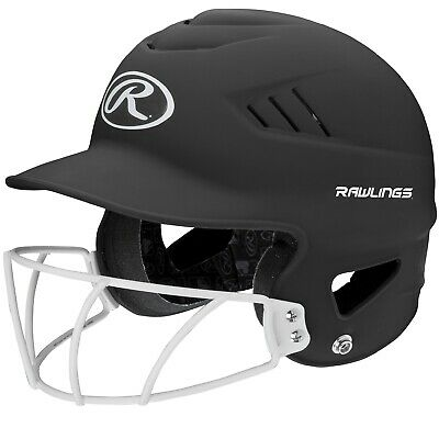 $34.34 • Buy Rawlings Coolflo Highlighter Softball Helmet/Face Guard-Blk RCFHLFG-MBK