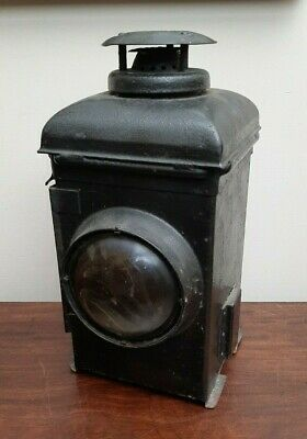 Antique The ADLAKE Railway Signal Gas Lamp - Non Sweating Nice Condition • 125£