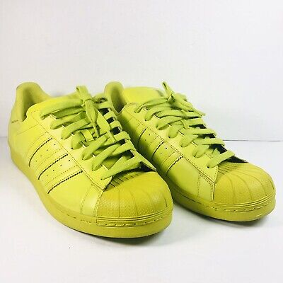 $ CDN115 • Buy Adidas Superstar Shell Toe Supercolor Men's Shoes Size 12 S83389 Pharrell Yellow