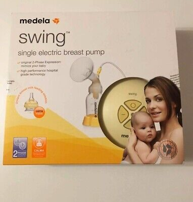 View Details Medela Swing Breast Pump - Single Electric Breast Pump For Every Day Use • 41.99£
