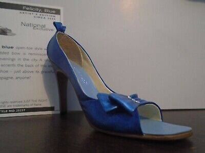 Just The Right Shoe Felicity, Blue # 25237 ( Artist Edition ) • 8.50£