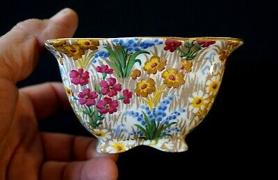 $ CDN105.01 • Buy Beautiful Royal Winton Grimwades Chintz Marguerite Gold Sugar Bowl