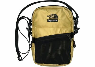 $ CDN165.84 • Buy Supreme The North Face Metallic Shoulder Bag Gold SS18