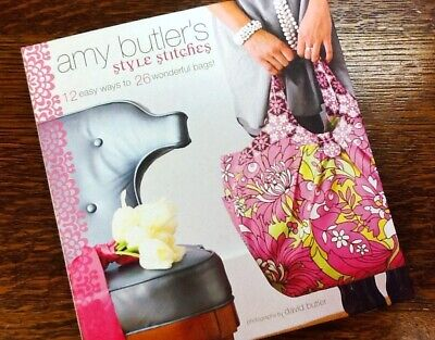 Bag Sewing Book, Sewing Bags, Amy Butler Book, Bag Patterns, How To Sew Bags • 5.99£