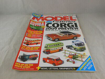 £3.50 • Buy Model Collector December 2008 Corgi 2009 Preview What Will You Be Buying Next Y