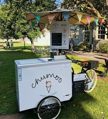 Ice Cream Bike With Mobilux 12v Battery Powered Freezer And All Accessories • 2,495£