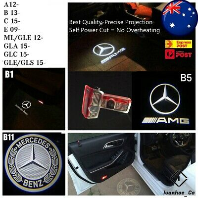 AU53.99 • Buy 4x Projector Welcome Courtesy Light Door Puddle Lights For Mercedes Benz AUS