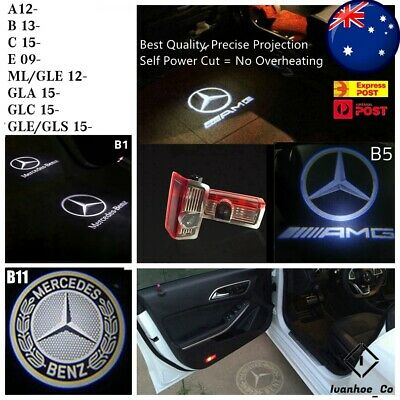 AU36.99 • Buy 2x Projector Welcome Courtesy Light Door Puddle Lights For Mercedes Benz AUS