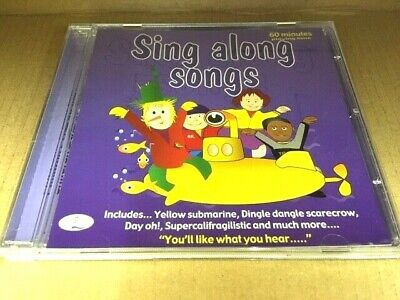 Sing Along Songs Cd All The  Favourite Children's Songs • 3.99£