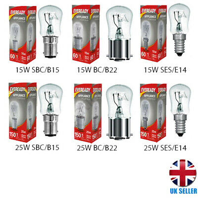 15w 25w Pygmy Appliances Light Bulb Sign Lamps E14 Small Screw B22 B15 Dimmable  • 4.48£