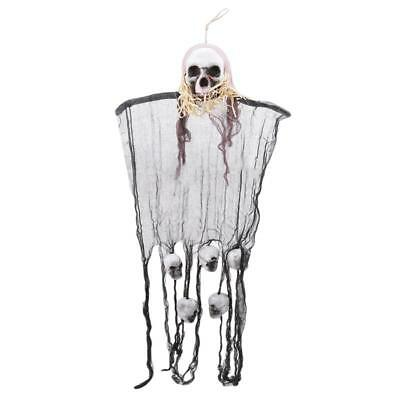 $ CDN9.67 • Buy Decorations Ghost Animated Skull Prop Scary Ghost Halloween Prop Pendant Toy LA