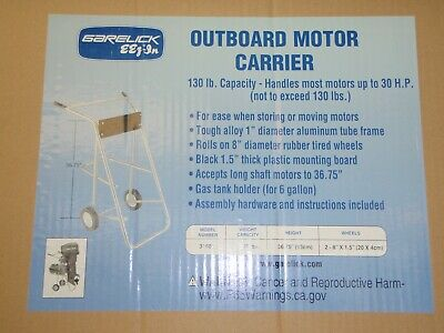 AU127.81 • Buy Outboard Motor Cart Stand Up To 30hp 130lbs 50-27993 Garlick 31600  Aluminum