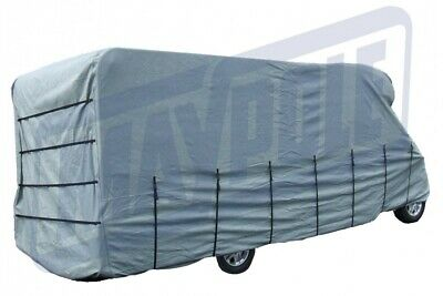 Maypole MP9425 Camper Cover  FITS 7.5M TO 8.0M 4-PLY MOTOR HOME COVER GREY • 30£