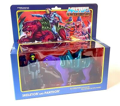 $41.84 • Buy SUPER 7 Masters Of The Universe Skeletor And Panthor ReAction Figures