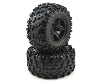 AU139 • Buy Traxxas X-Maxx Pre-Mounted Tires & Wheels (2) (8S Rated) TRA7772X