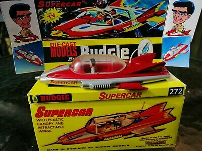 Original Budgie Supercar 272  Vintage Gerry Anderson Early  1960's Tv Series  • 295£