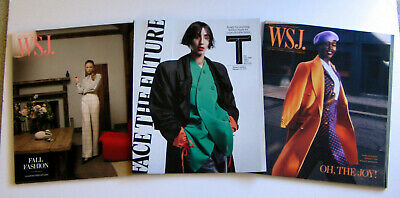 $12 • Buy 3 WSJ Wall Street Journal & NY Times Magazines 9/2019 3/2020 Womens Fashion NEW