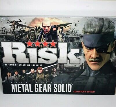 $29.70 • Buy New Risk Metal Gear Solid Collector's Edition Board Game - Factory Sealed