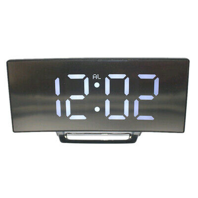 7-inch LED Display Alarm Clock Digital Projection Clock With 12/24 Hours Clock • 10.57£
