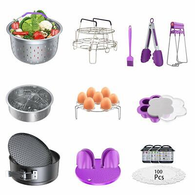 $58.74 • Buy Accessories For Instant Pot Pressure Cooker 17 Pieces Kit Compatible With 5/6...