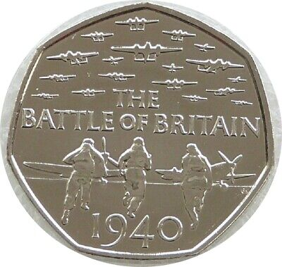 2015 Royal Mint Battle Of Britain 50p Fifty Pence Coin Uncirculated • 74.95£