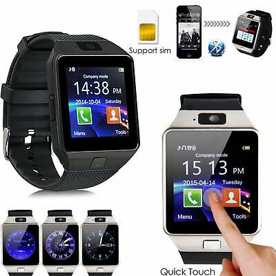 AU13.60 • Buy DZ09 Smart Watch Phone & Camera SIM Bluetooth & Android Compatible | Christmas