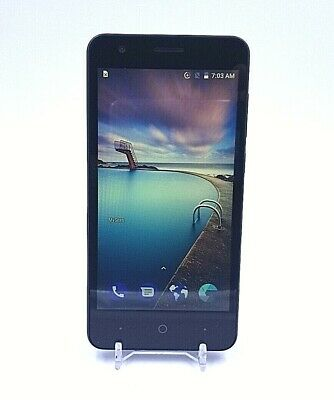 $19.95 • Buy ZTE Blade T2 - Black Smartphone - TracFone - 16GB - Used And Working - Clean ESN