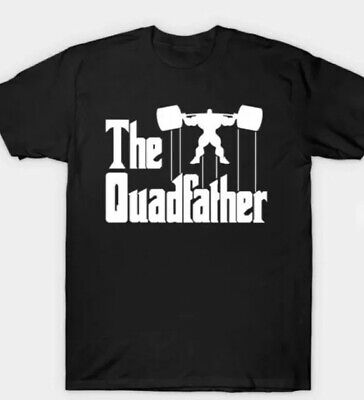 Mens Gym T Shirt Cool Funny New Godfather • 9£