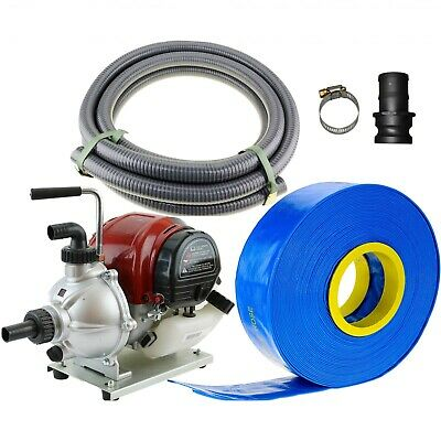 AU280 • Buy 1  Transfer Water Pump Four Stroke Camping Gold Sluice And Hose Kit Petrol 4x4