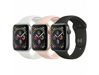 $ CDN379.36 • Buy Apple Watch Series 4 (40MM / 44MM) Space Gray Silver Rose Gold GPS+LTE Cellular