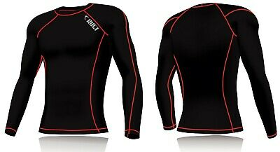 New Mens Compression Armour Base Layer Top Long Sleeve Thermal Gym Sports Shirt  • 9.99£