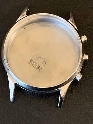 $ CDN306.31 • Buy Vintage Gallet Chronograph Watch Case For Parts