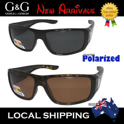 AU17.95 • Buy New Mens Polarised Sunglasses Wrap Around Polarized Driving Fishing Bushwalking