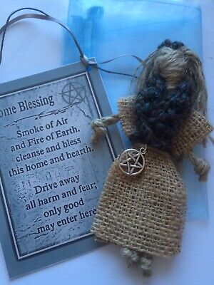 Kitchen Witch 🌿 Wiccan Pagan Talisman Poppet House Protection Spell Good Luck • 6.50£