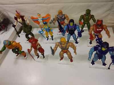 $45 • Buy MOTU Loose Figure Stand / Base  Any 9 Bases You Want.    Set 1 Free Ship.