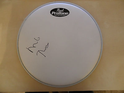 MIKE RUTHERFORD Signed Drum Skin GENESIS COA • 99.99£