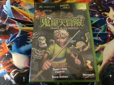AU40 • Buy Grabbed By The Ghoulies Microsoft Xbox Game - NTSC J BRAND NEW & SEALED!
