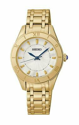 $ CDN169.99 • Buy Seiko Women's Gold-Tone Stainless-Steel Quartz Watch - SRZ434 SRZ434P1