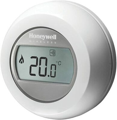 Honeywell Y87RF2024 Single Zone Mobile Compatible Thermostat, 230 V, White/Grey • 64.75£